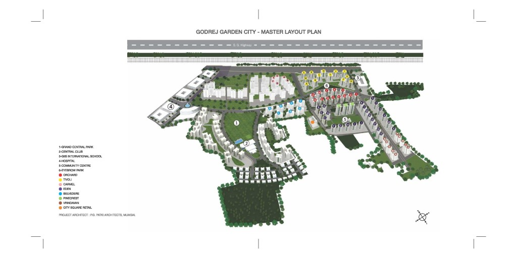MASTER PLAN - GODREJ GARDEN CITY